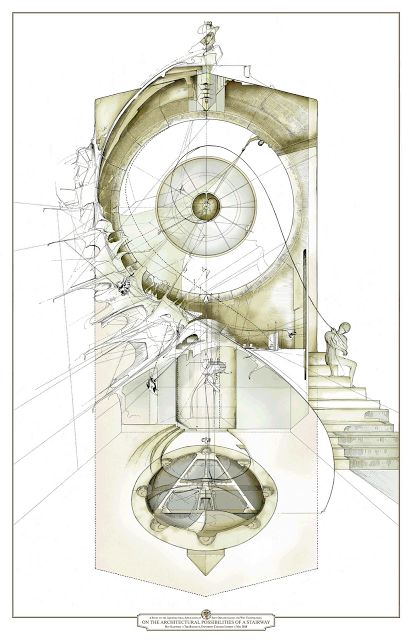 Possibilites of a Stairway by Dan Slavinsky