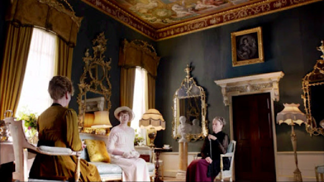 Inspired by Rosamund's House from Downton Abbey