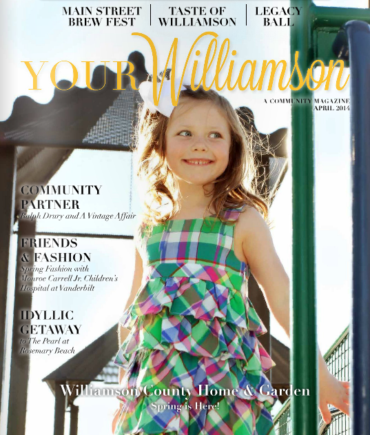 Sandler Design Group, LLC featured in March 2014 issue of YOUR Williamson magazine.