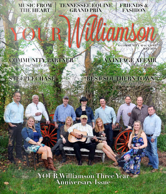 Sandler Design Group, LLC featured in May 2014 issue of YOUR Williamson magazine.