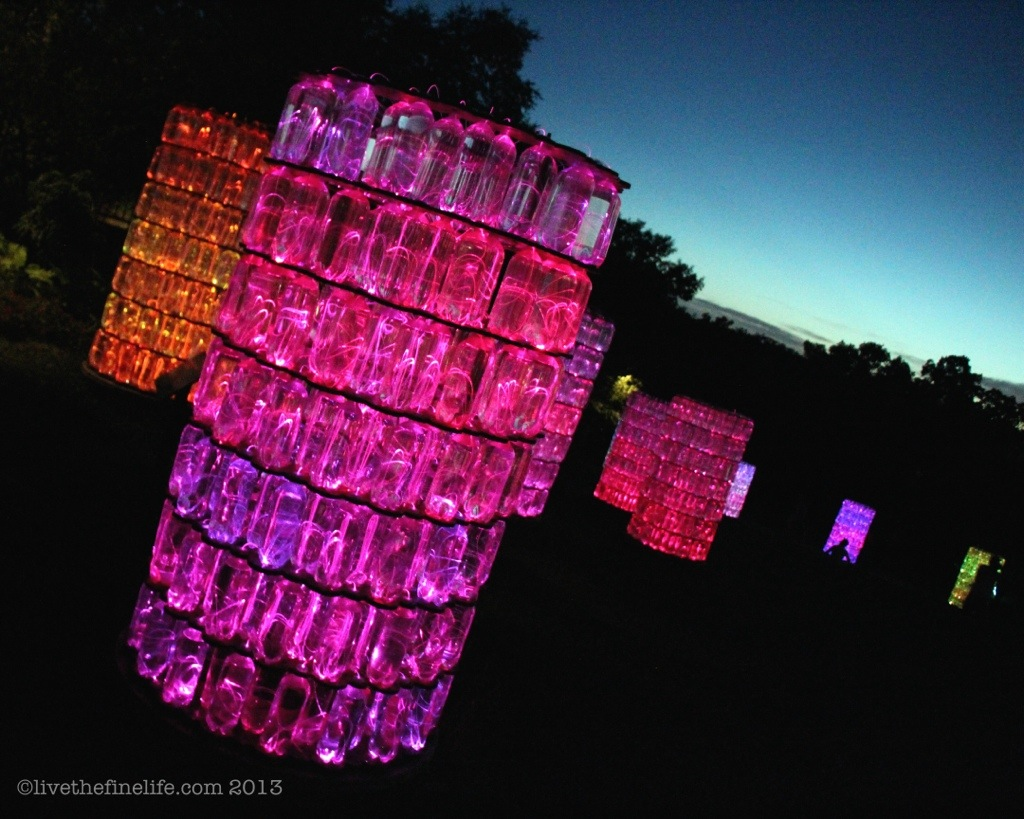 Water Towers by Bruce Munro via livethfinelife.com