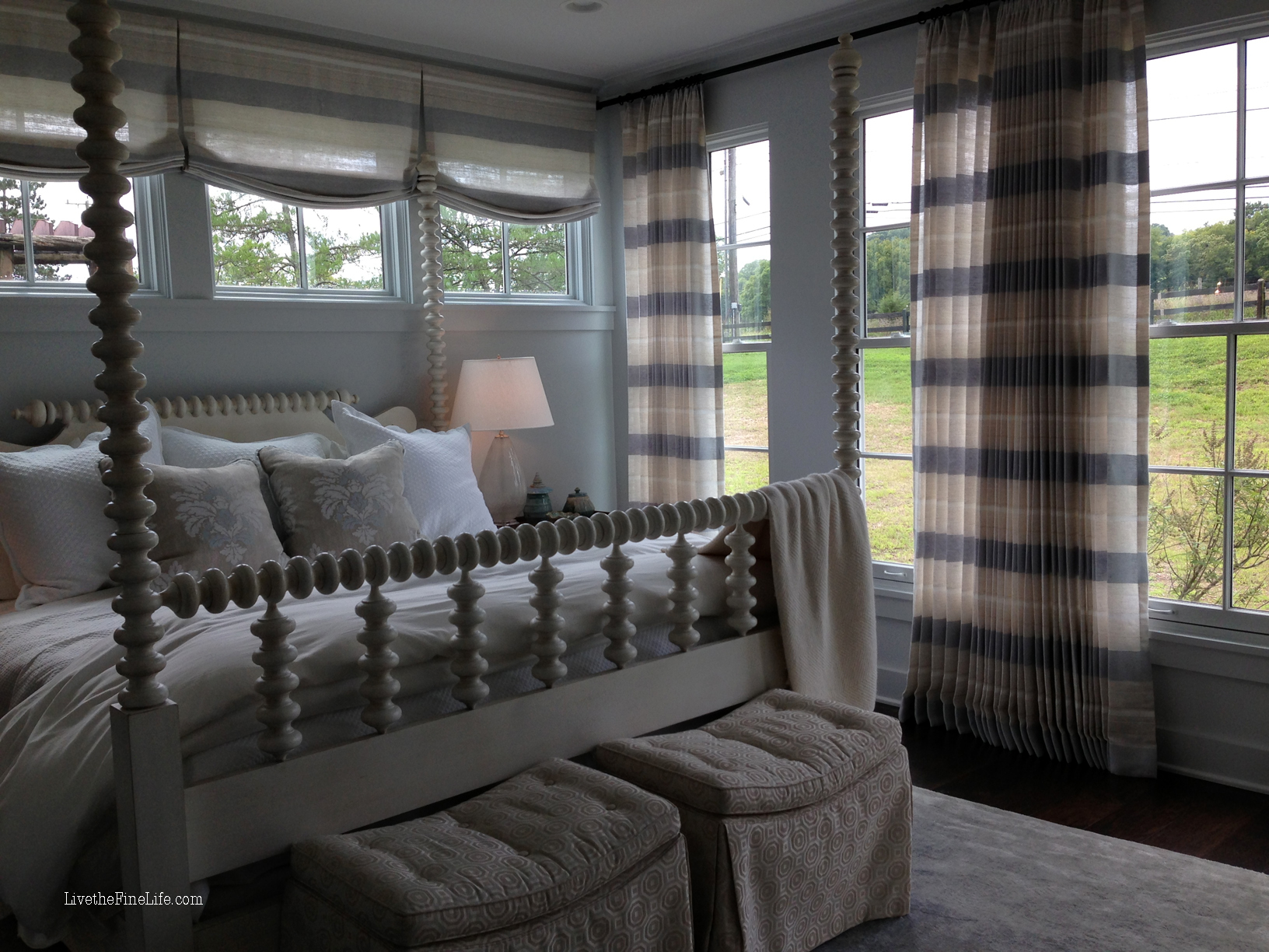 Southern Bedroom Live The Fine Life Master Bedroom Southern Living Idea House