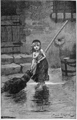 Emile Bayard's Cosette from Les Miserables via LivetheFineLife.com