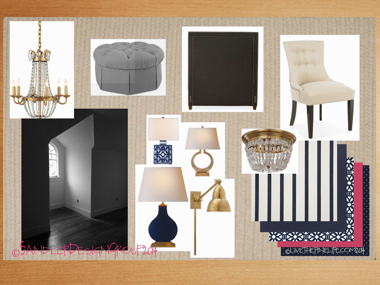 2014 O'More Designer Show House:: Sandler Design Group: Bedroom 4 via livethefinelife.com